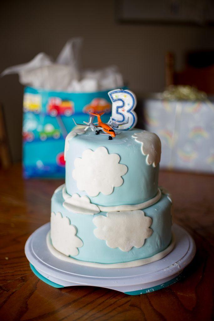 Oscar's 3rd Birthday Cake
